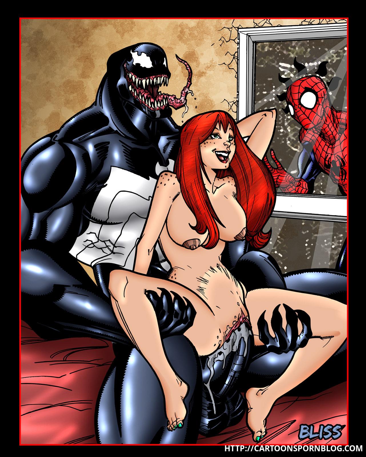Человек паук занимается сексем 16 фотография